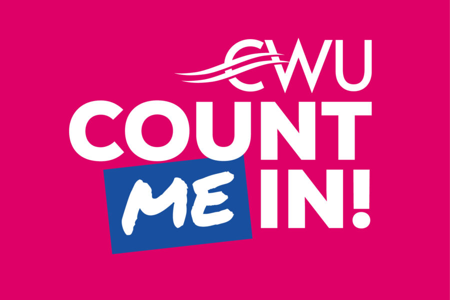 CWU Count Me In logo